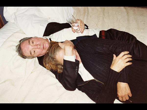 Juergen Teller, Marc Jacobs advertising campaign, S/S '07 William Eggleston with Charlotte Rampling © Juergen Teller. Courtesy the artist.