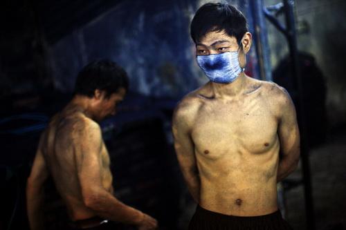 Джастин Чин<br /> Из серии Голубая полночь