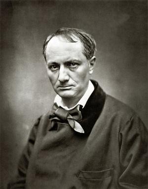 Charles Baudelaire (1821-1867). Autor Etienne Carjat (1828-1906). Ок.1863