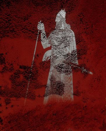 ©Николай Кулебякин. «Ассирийский царский костюм»