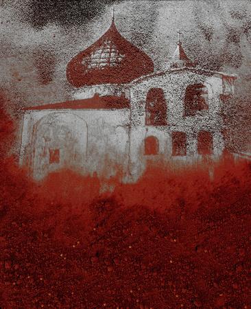 ©Николай Кулебякин. «Церковь Спаса Преображения в Пскове»