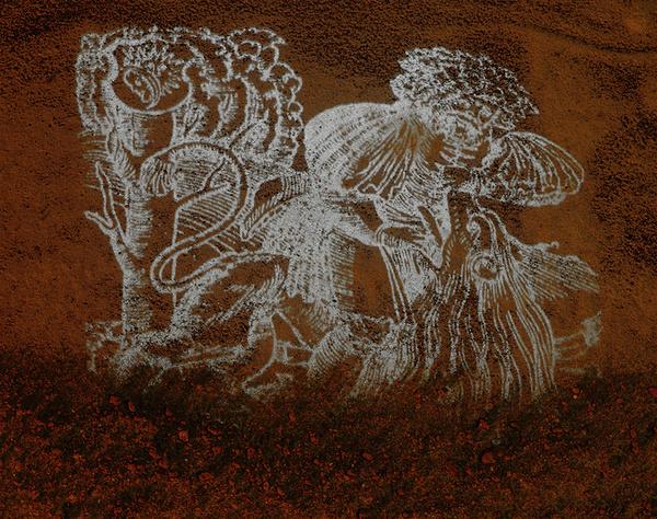 ©Николай Кулебякин. «Франциск Скорина. Самсон разрывает пасть льву»