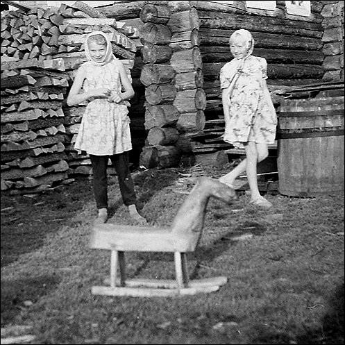 ©Группа авторов. «Деревянная лошадка (р. Мезень, 1967)»