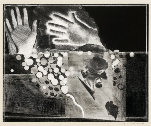 L.B.J. and Hands, 1965.