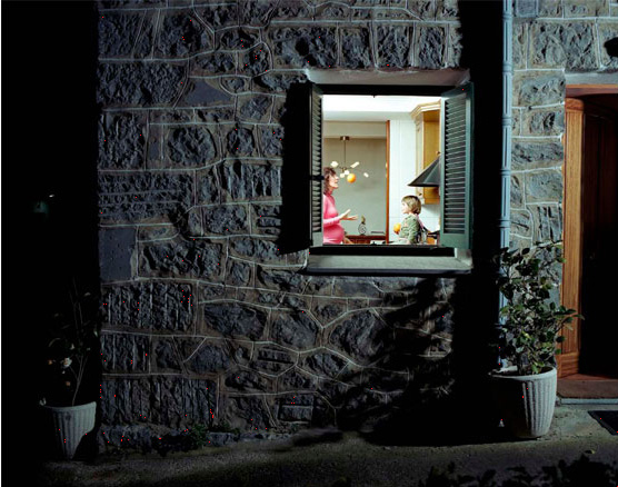 Giorgio Barrera - Attraverso la finestra ©