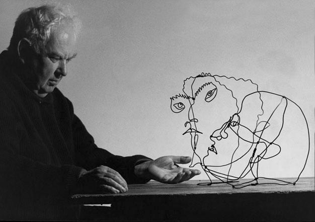 Alexander Calder. 1962 &copy Ugo Mulas
