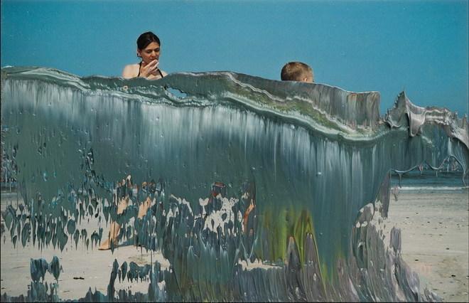 """Gerhard Richter. 4. Mдrz 03. Cortesнa: Privatbesitz Deutschland. Publicada en el libro """"Gerhard Richter. Overpainted Photographs"""". Hatje Cantz Verlag, Ostfildern, 2008 © Gerhard Richter"""