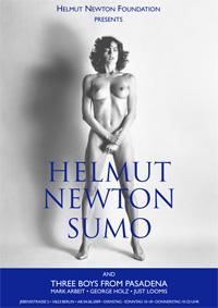 """Постер к выставке """"SUMO"""". © Helmut Newton Estate."""