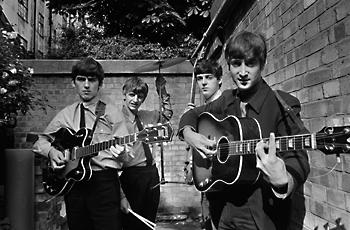 The Beatles in 1963 © Terry O