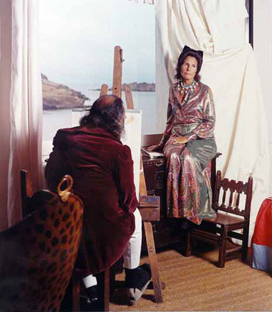 Dali and His Muse Gala by Marc Lacroix.