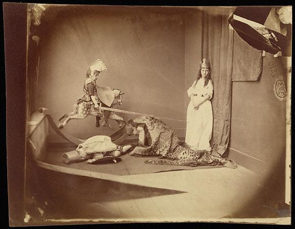 Lewis Carroll.  June 26, 1875. Albumen silver print. 4 13/16 x 6 3/8 in.  84.XP.458.15