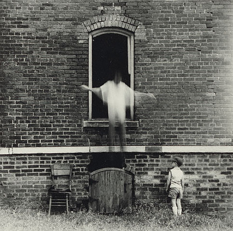 © Estate of Ralph Eugene Meatyard. Gift of Christopher Meatyard and Jonathan Greene.   Ralph Eugene Meatyard. American, 1966. Gelatin silver print. 6 5/8 x 6 7/8 in.  2007.49.4