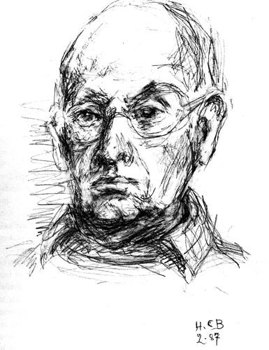 Анри-Картье Брессон. Автопортрет