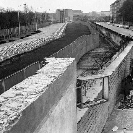 Клаус Шютц<br> Берлинская стена<br> 16 ноября 1967<br> © Федеральное ведомство печати и информации BPA