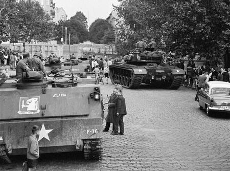 Хорст Зигманн<br> Берлин, Майбахуфер<br> 25 августа 1961<br> © Федеральное ведомство печати и информации BPA