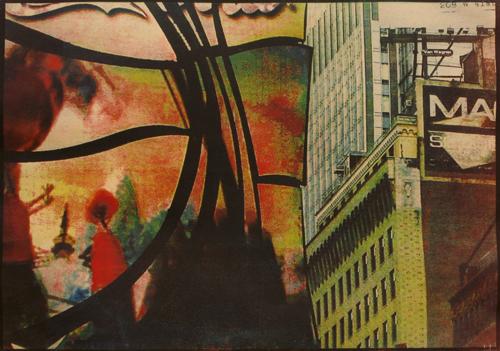 Нью-Йорк, 2008<br> Многоцветная гуммиарабиковая печать
