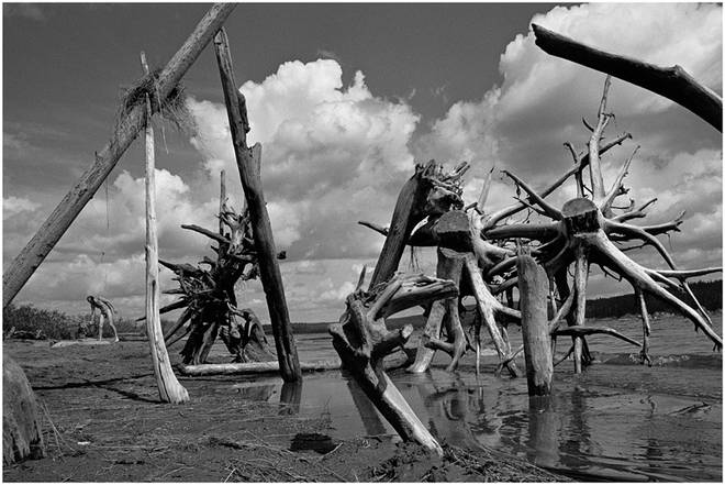 Река Кама. Пермская область, 1984