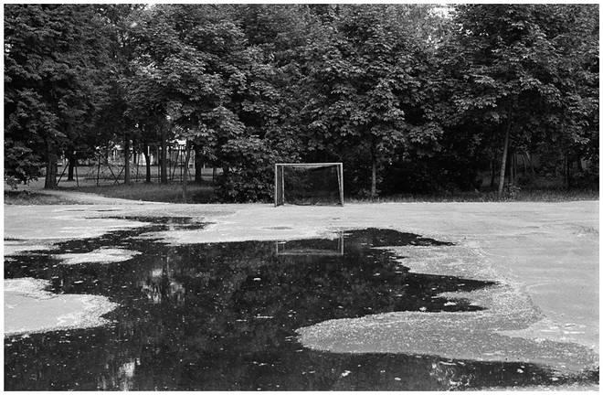 Футбольное поле. Москва, 1988