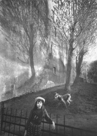 Yuri Brodsky  <br /> «Portrait of Anna. Petersburg, 1992»<br /> Silver gelatin manual pint, 38х55, author's property