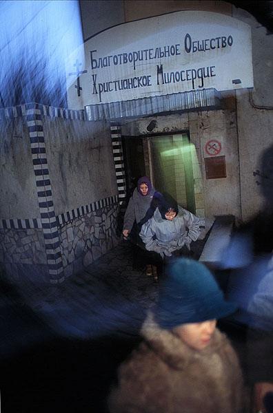 ©Питер Блейкли. «Москва, 1994-2000»