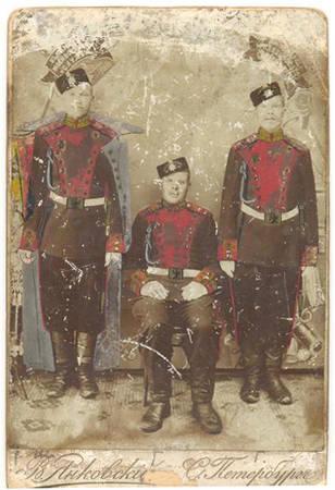 Наши предки<br> С.Петербург, фотография В.Янковского, 1855