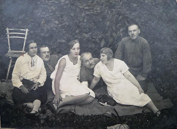 На отдыхе<br> Киев, 1920-1930