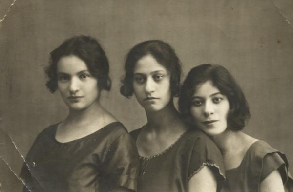 Сестры Кацва<br> Орел, 1920-1923<br>