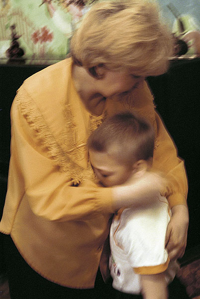 ©Александр Сорин. «Саратов, 2001, Приемные семьи»