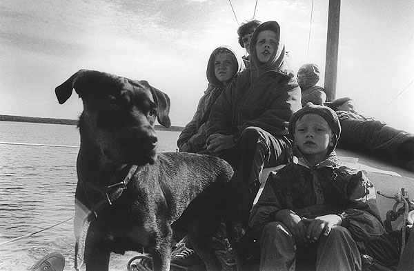 ©Игорь Лебедев. «Ленинградская обл., Ладожское озеро, 1998»