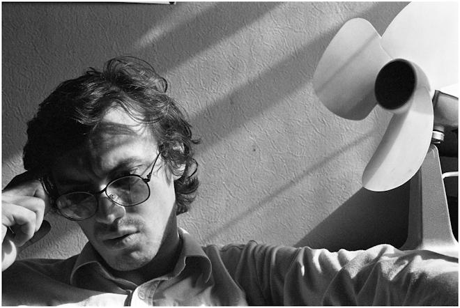 Поэт Виталий Кальпиди. Москва. 1986