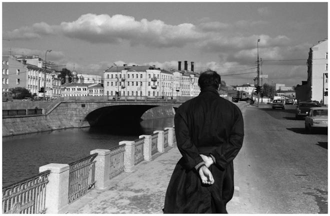 Овчинниковская набережная. Москва. 1989
