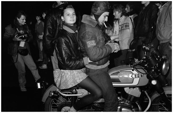 Байкеры. Москва. 1989