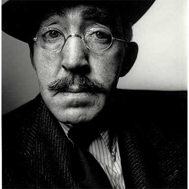 S.J. Perelman, New York, 1962<br> <i>Image: Irving Penn / Conde Nast Publications</i>