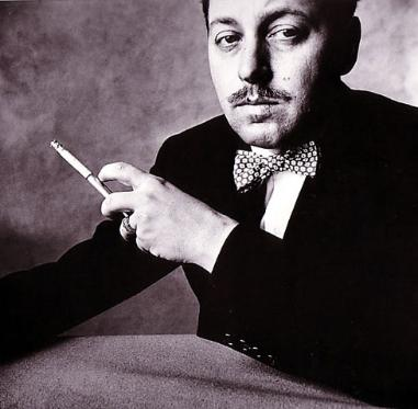 The playwright Tennessee Williams<br> <i>Image: Irving Penn</i>