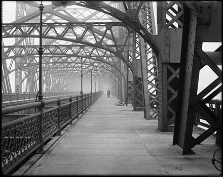 Мост Квинсборо. Техническая съемка