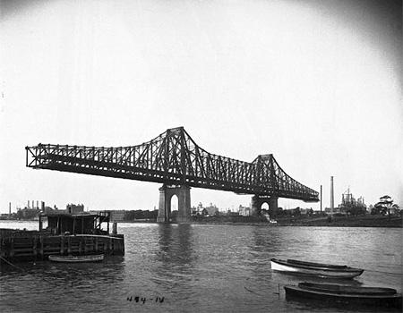 Мост Квинсборо. 1907 г.