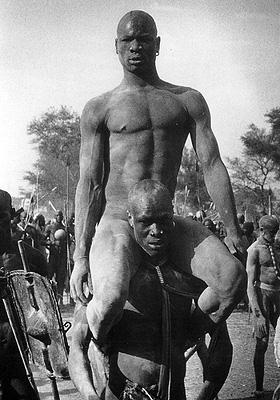 Победитель поединка. Нуба. 1947