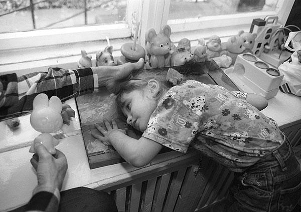 &copy;Владимир Дубровский. «Новосибирск, 1995-2000, Центр социальной реабилитации <br>детей-инвалидов (Школа Бороздина)»