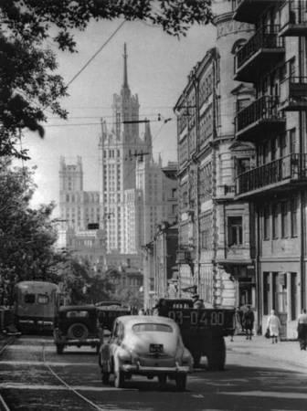Яузский бульвар. 1950-е