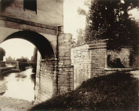 Old Mill, Charenton<br> Eugene Atget<br>  French, Charenton, 1915 <br> Albumen print<br> 7 1/8 x 8 1/2 in.