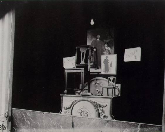 Eugene Atget<br> Fete du Trone de Geant, 1925