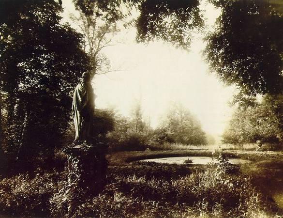 Eugene Atget<br> Parc de Sceaux, 1925