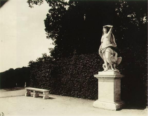 Eugene Atget<br> Versailles, parc, 1901