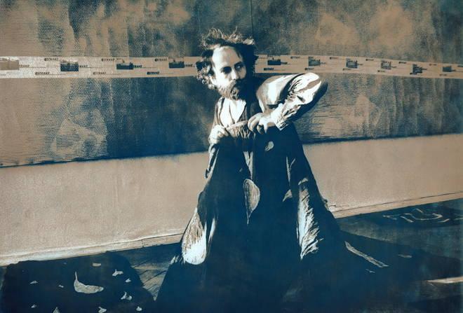 """Эдуард Странадко. """"Квартира художника_1"""". Ручная серебряно-желатиновая печать, двойное тонирование, 30х20, собственность автора"""