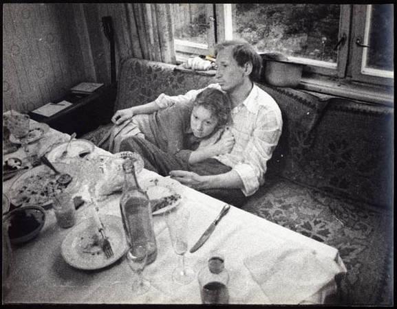 После юбилея родителей. 1990