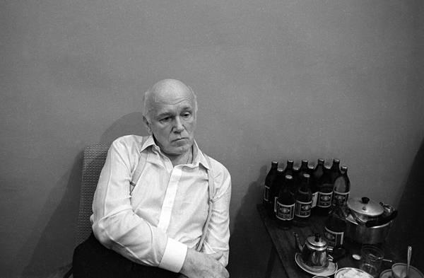 ©Фарит Губаев. «Святослав Рихтер. Казань,1990»