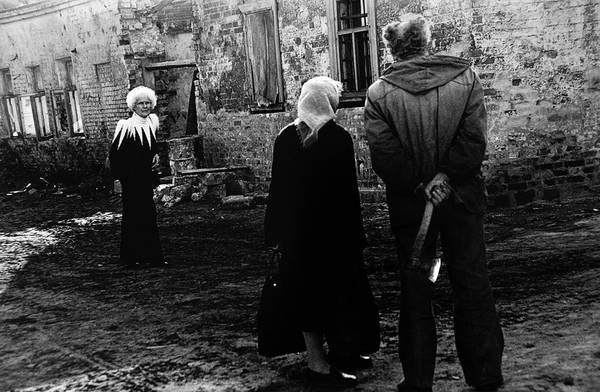 ©Фарит Губаев. «Американка в Рязани.1992»
