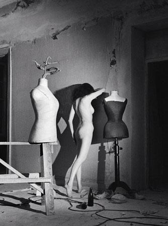 Стен Дидрик Белландер.  Студия во время ремонта.  1949. © Архив семьи Стена Дидрика Белландера