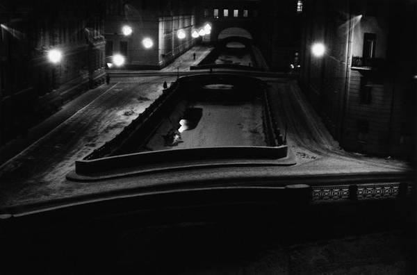 ©Борис Смелов. «Зимняя канавка. Ночь. 1972»