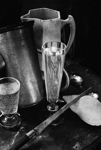 ©Борис Смелов. «Натюрморт с двумя рюмками. 1970-е»